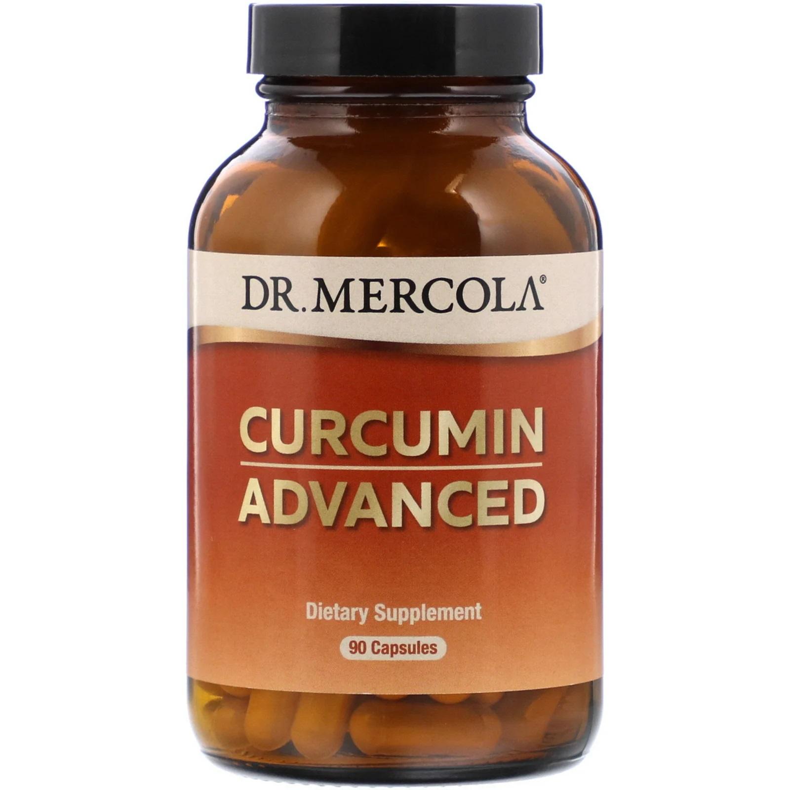 Image of Curcumin Advanced (90 Capsules) - Dr. Mercola 0813006016810