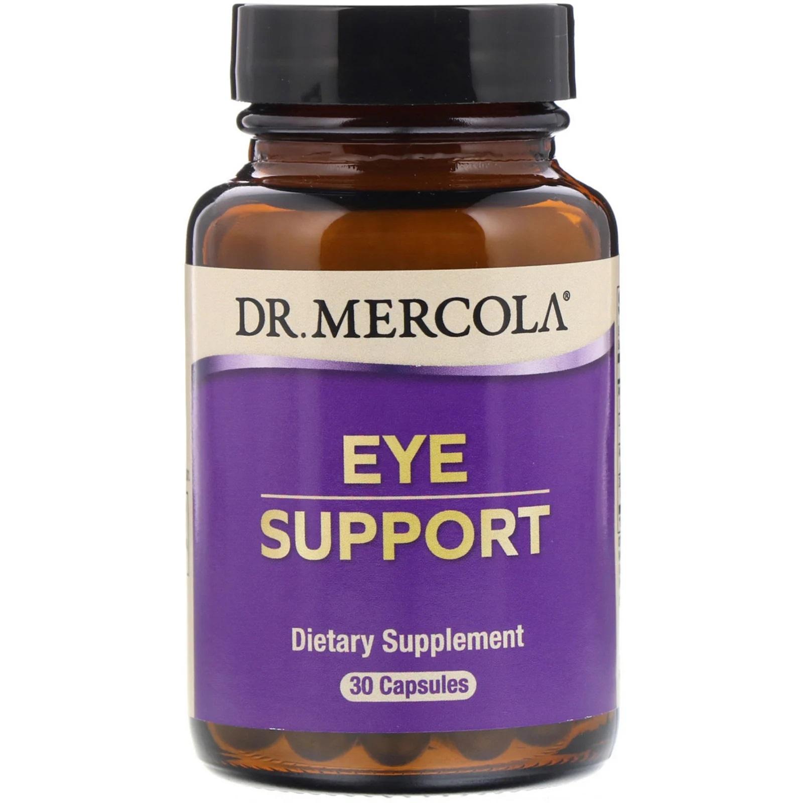 Image of Dr. Mercola, Supporto di occhio con luteina, 30 Capsules 0813006012355