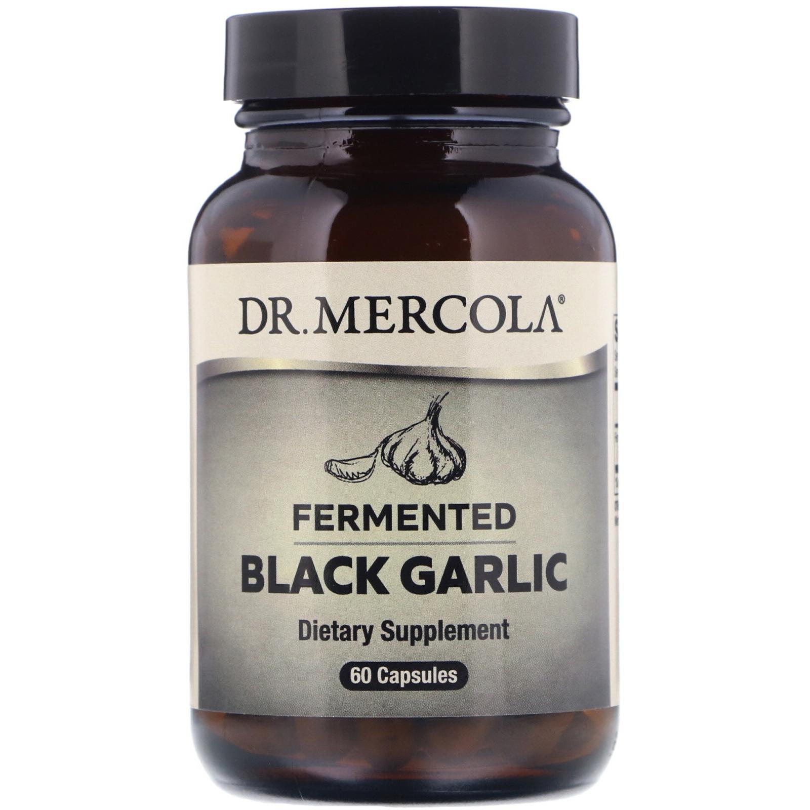 Image of Fermentato nero aglio (60 capsule) - Dr. Mercola 0813006015820