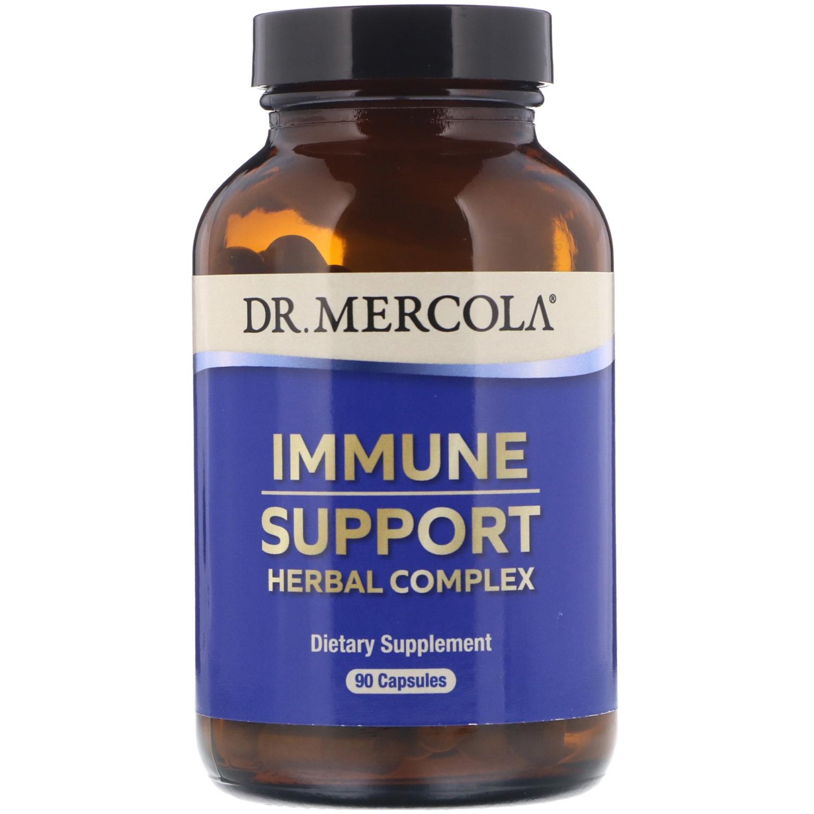 Image of Dr. Mercola, Premium Supplements, Immune Support, 90 Capsules 0813006011563
