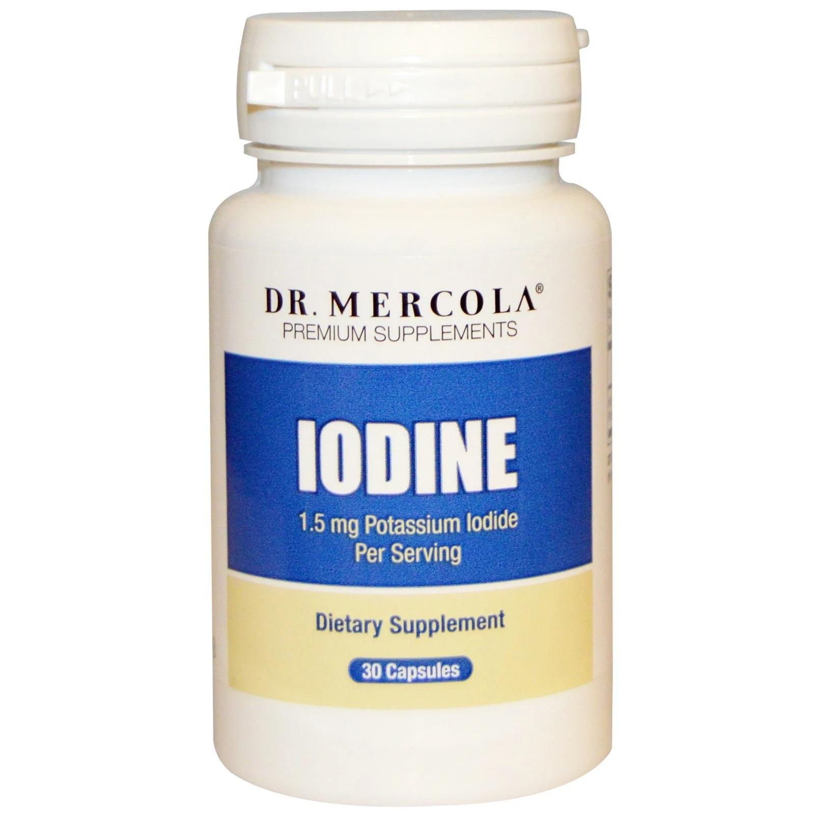 Image of Iodine (30 Capsules) - Dr. Mercola 0813006016148