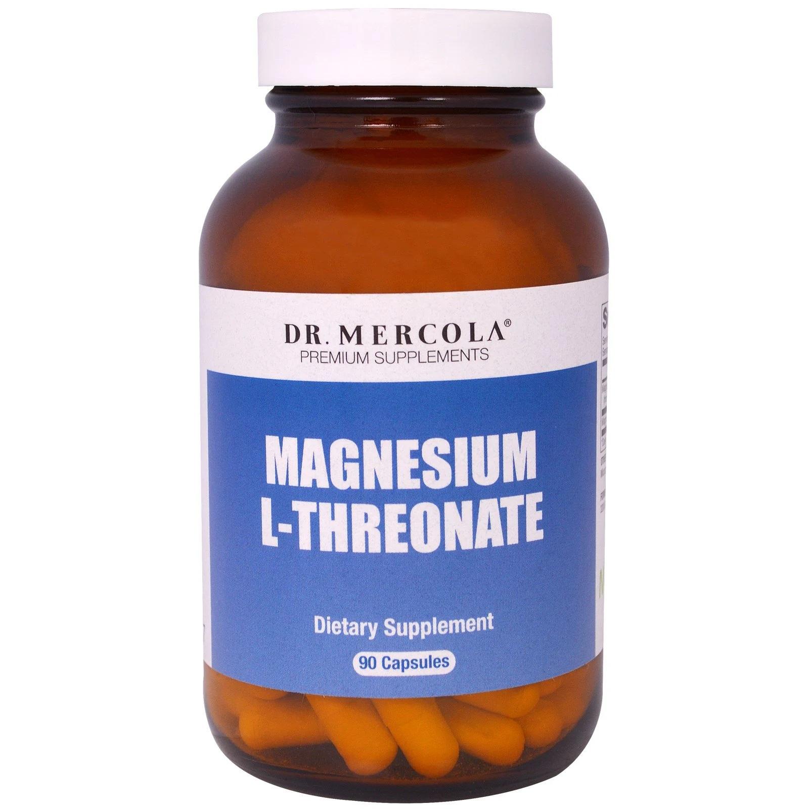 Image of Magnesio L-Threonate (90 capsule) - Dr. Mercola 0813006017787