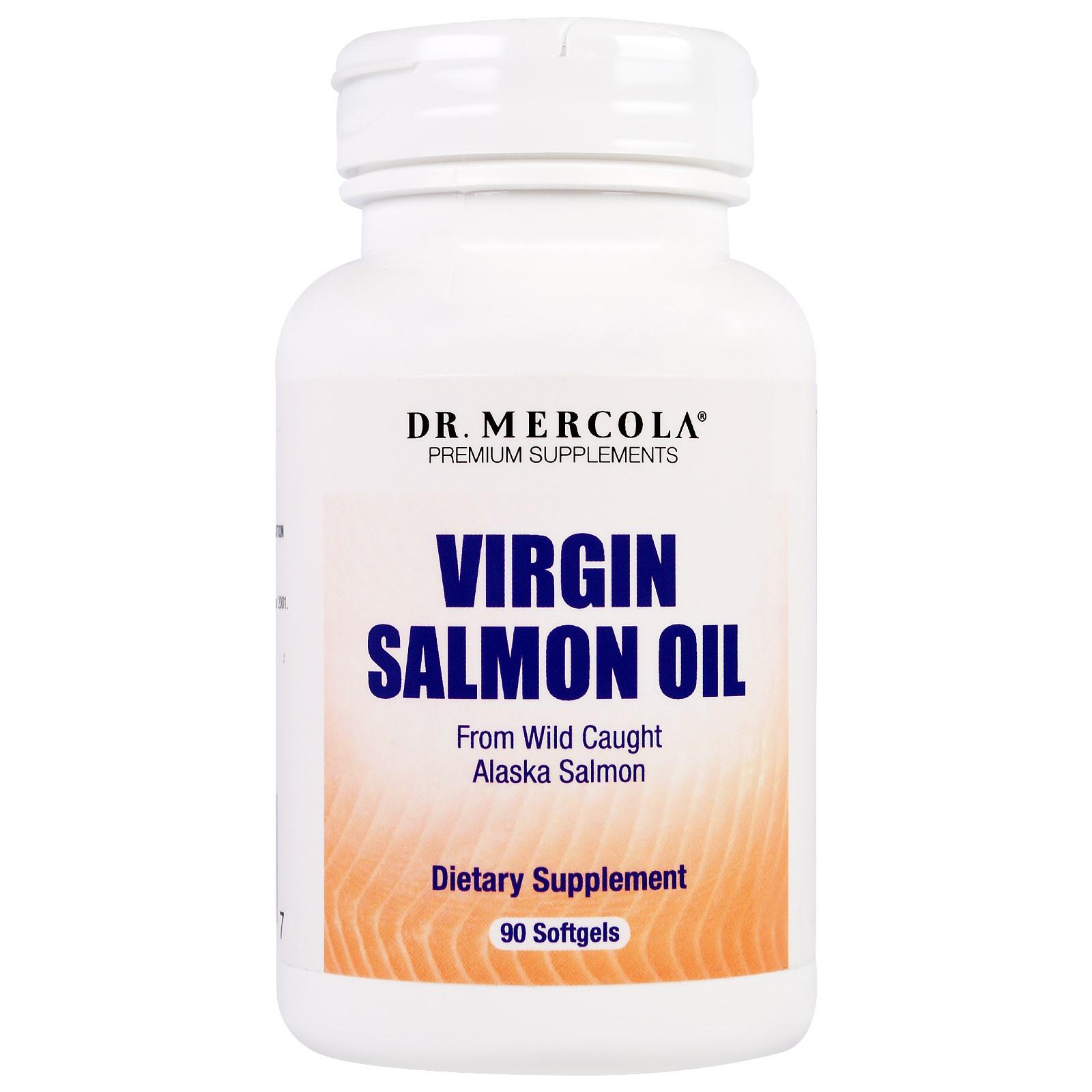 Image of Dr. Mercola, Olio di salmone, 90 capsule 0813006018456