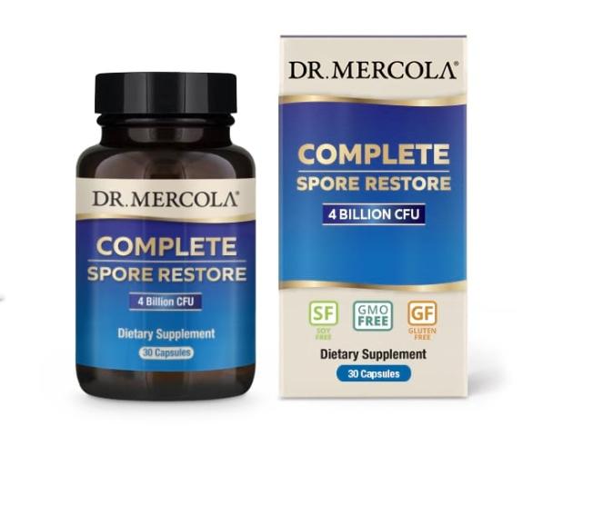 Complete Spore Restore (30 capsules) Dr. Mercola