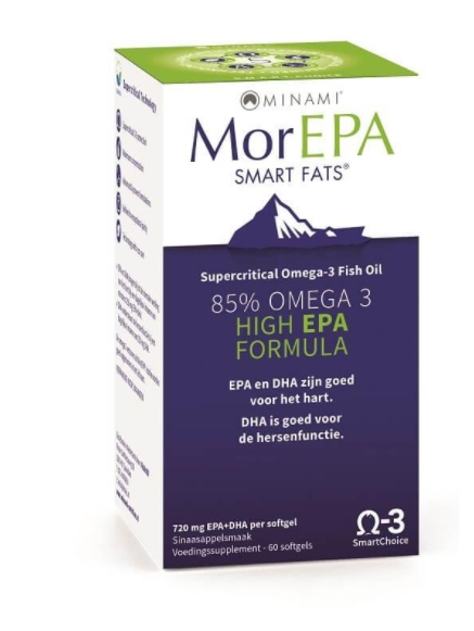 MorEPA Smart Fats (60 Capsules) Minami