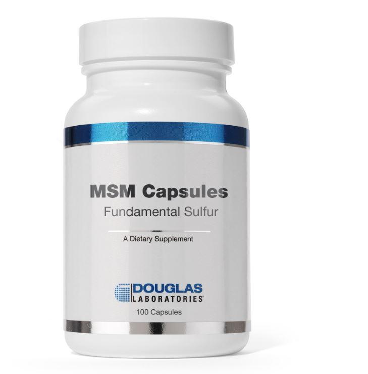 MSM Capsule fondamentali dello zolfo (90 capsule) Douglas Laboratories