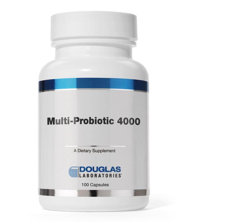 Image of Multi-probiotici 4000 (100 caps) - Douglas Laboratories 8713975904496