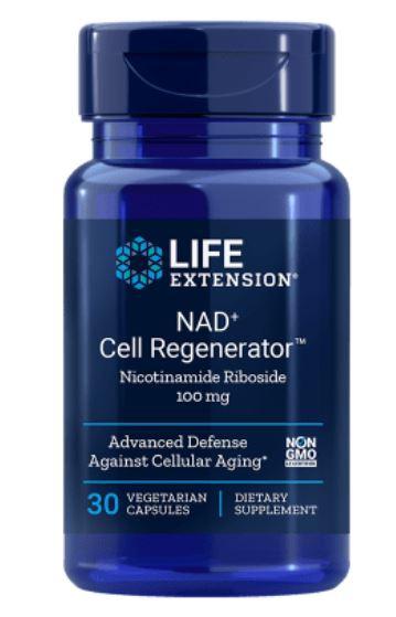 Nad+ Cell Regenerator Nicotinamide Riboside 100 Mg 30 Capsule Vegetariane Life Extension