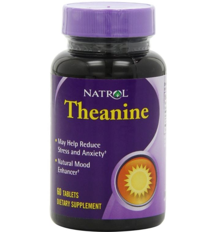 Natrol, Teanina, 60 compresse