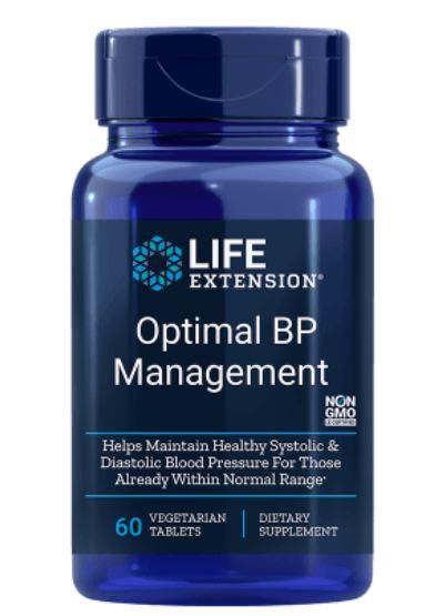 Image of Natural BP Management - 60 Compresse - Life Extension 0737870984061