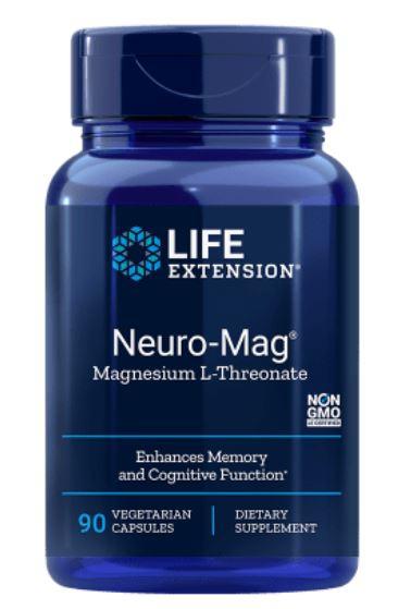 Image of Life Extension, Magnesio neuro-Mag L-treonato, 90 capsule vegetali 0737870160397