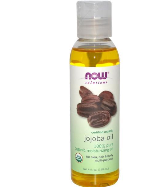 Image of Certificata per olio di Jojoba biologico (118 ml) - Now Foods 0733739077134
