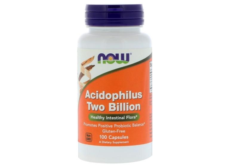 Acidophilus Two Billion (100 capsules) Now Foods