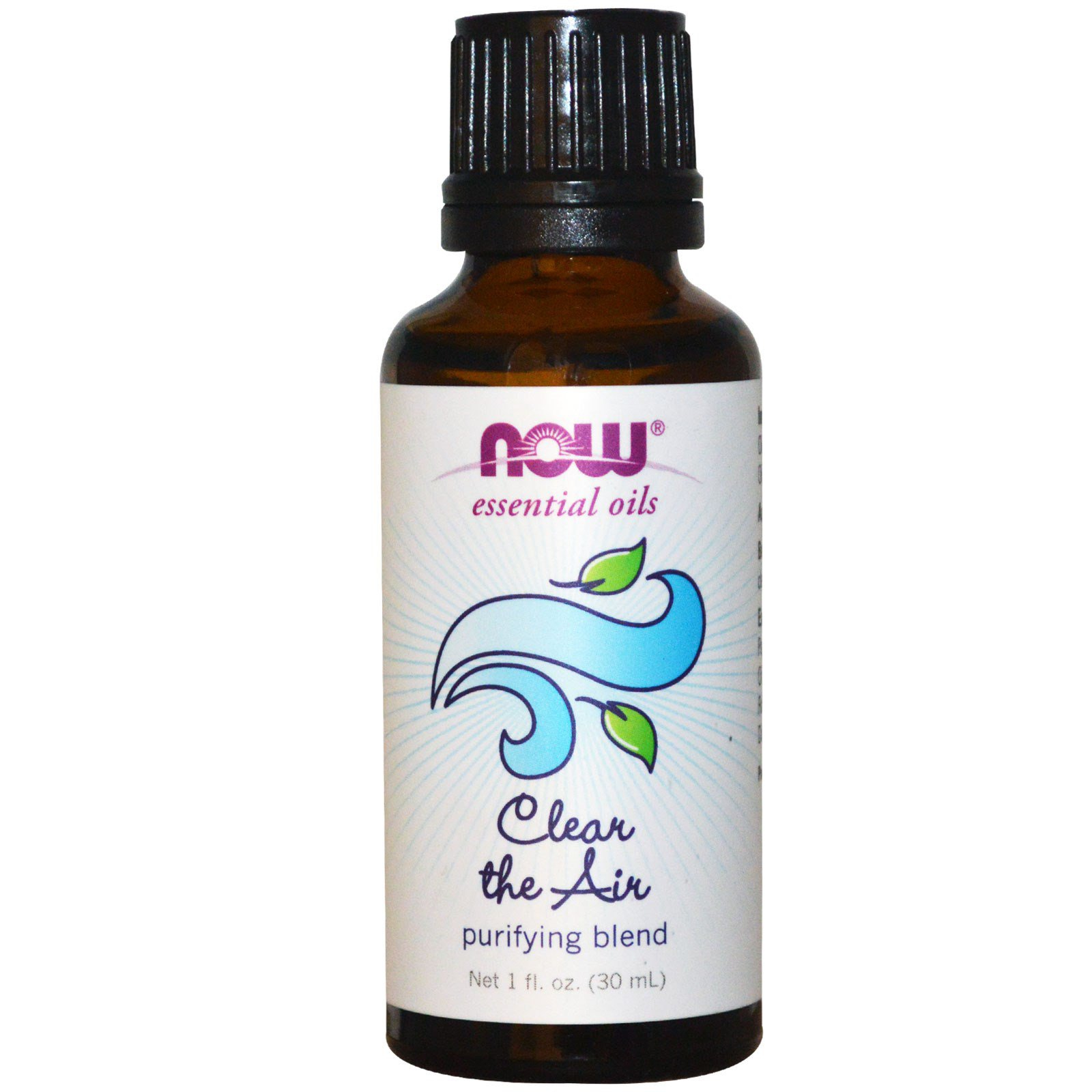 Image of Essential Oils - Clear the Air- Purifying Blend (30 ml) - Now Foods 0733739076052