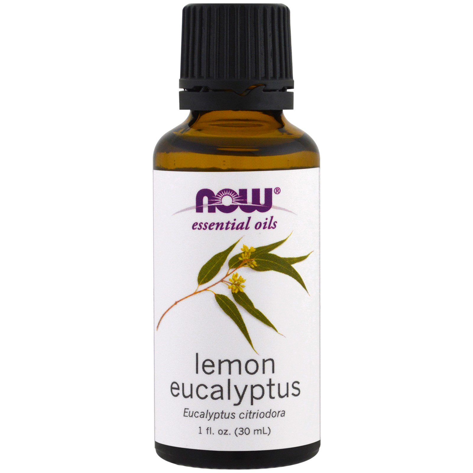 Image of Essential Oils- Lemon Eucalyptus (30 ml) - Now Foods 0733739076380