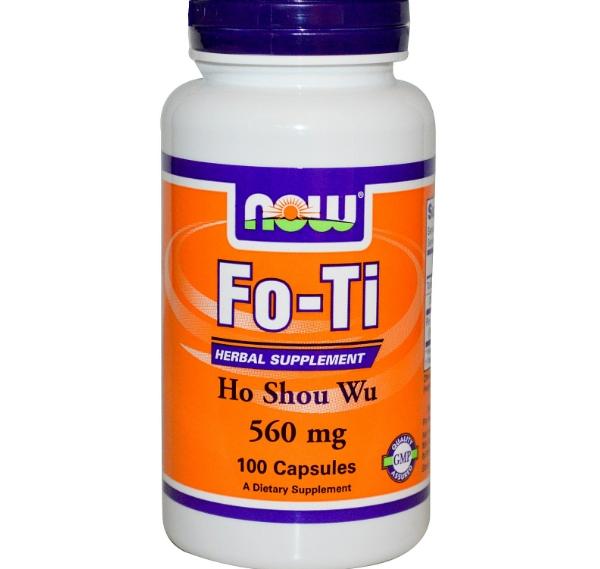 Image of Now Foods, Fo-Ti, Ho Shou Wu, 560 mg, 100 Capsules 0733739046758
