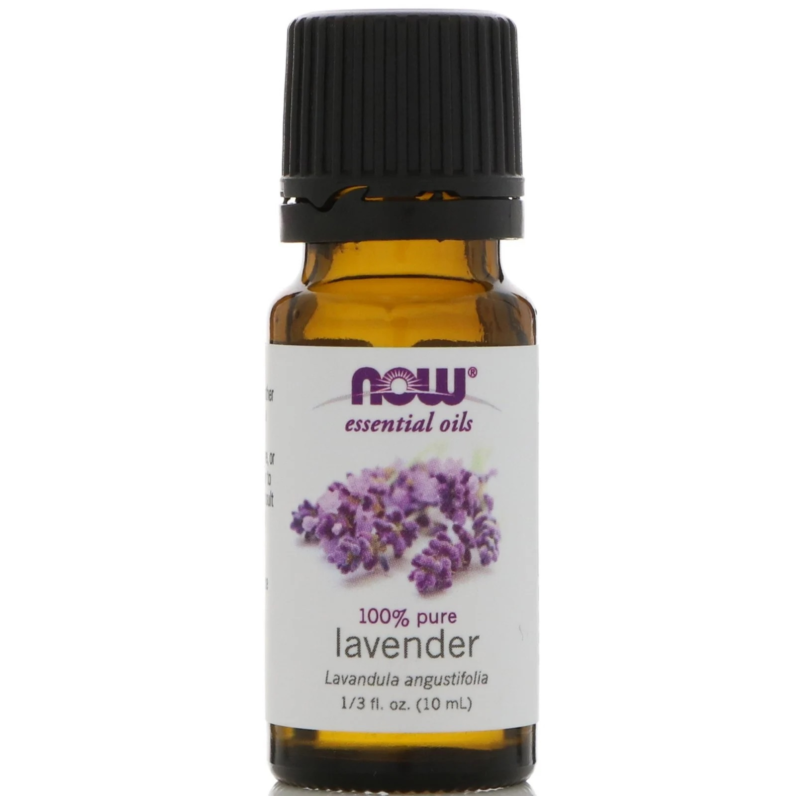 Image of Essential Oils- Lavender (10 ml) - Now Foods 0733739079008