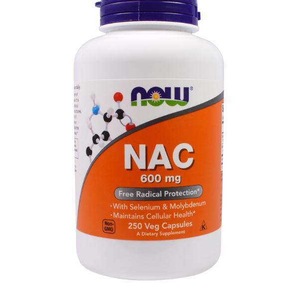 Image of Now Foods, NAC, 600 mg, 250 Veggie Caps 0733739000866