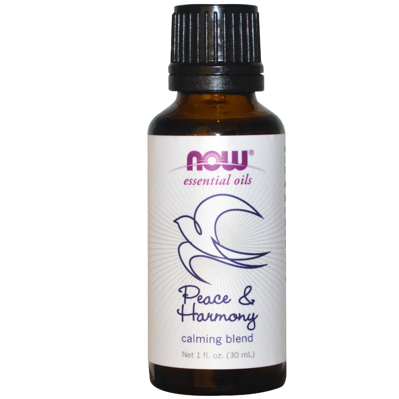 Image of Essential Oils - Peace & Harmony (30 ml) - Now Foods 0733739076083