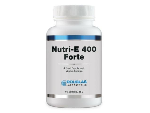 Image of Nutri e-400 Forte ™-(60 Tablets)-Douglas Laboratories 8713975901587