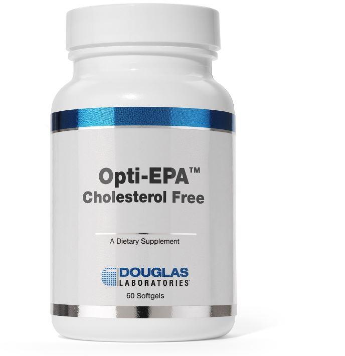 Image of Opti-EPA 500 (colesterolo libero) - 60 softgels - Douglas Laboratories 8713975900894