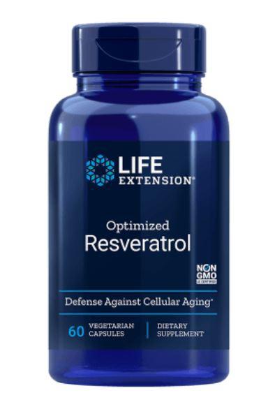Image of Life Extension, Resveratrolo ottimizzato con principi attivi dell'uva-Berry in sinergici 250 mg, 60 Veggie Caps 0737870223061