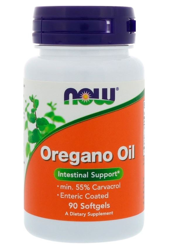 Image of Oregano Oil - 90 Softgels - Now Foods 0733739047328