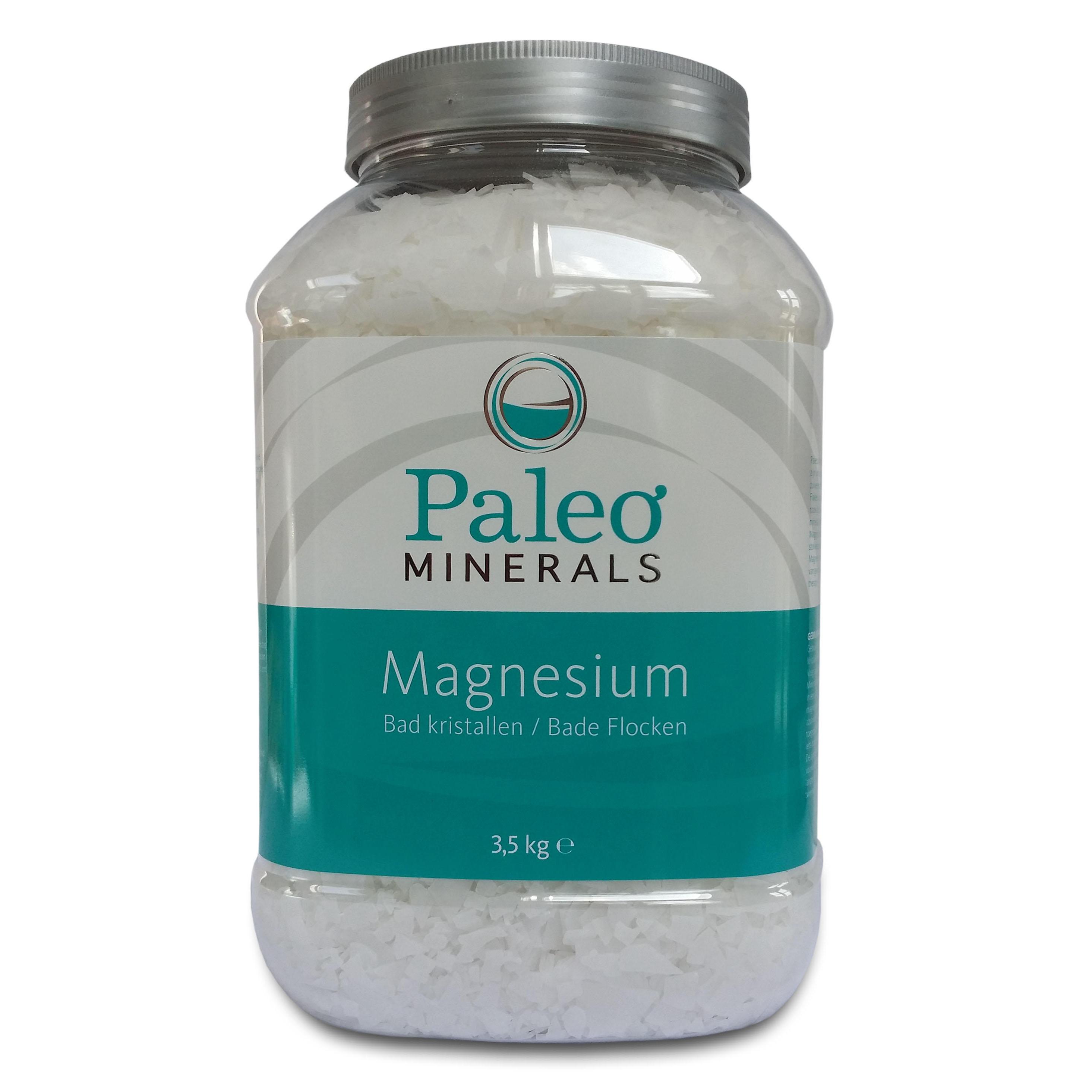 Image of Magnesium bath flakes (3,3 pound, 1500 gram) - Paleo Minerals 8717473098855