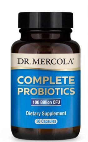 Complete Probiotics 100 Billion CFU (30 Capsules) Dr. Mercola