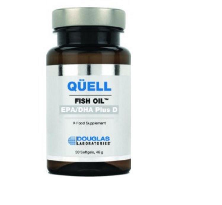 Image of Quell Sedare l'olio di pesce - alta EPA + DHA w/vitamina D3 (60 compresse) - Douglas Laboratories 8713975991199