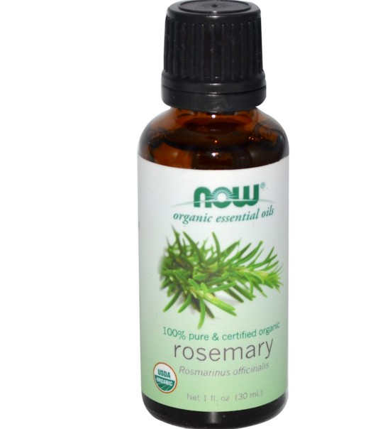 Image of Oli essenziali organici rosmarino (30 ml) - Now Foods 0733739074607