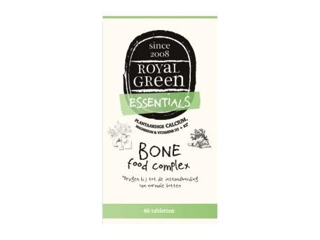 Image of Bone Food Complex - 60 Tabs - Royal Green 8710267781254