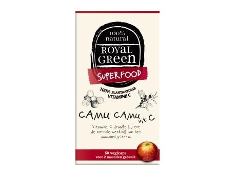 Image of Camu Camu C (120 vcaps) - Royal Green 8710267740022