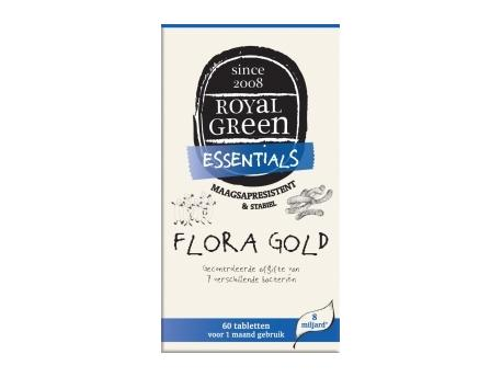 Image of Flora Gold - 60 Tabs - Royal Green 8710267781001