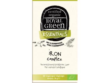 Image of Iron Complex Organic (60 vcaps) - Royal Green 8710267781810
