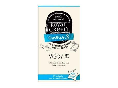 Image of Fish Oil (60 softgels) - Royal Green 8710267732027