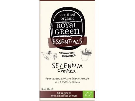 Image of Selenium Complex Organic (60 vcaps) - Royal Green 8710267781414