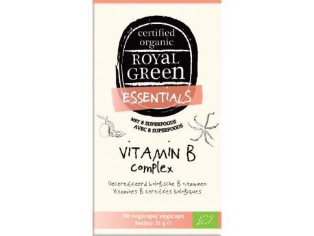 Image of Vitamine B Complex Organic (60 vcaps) - Royal Green 8710267781735