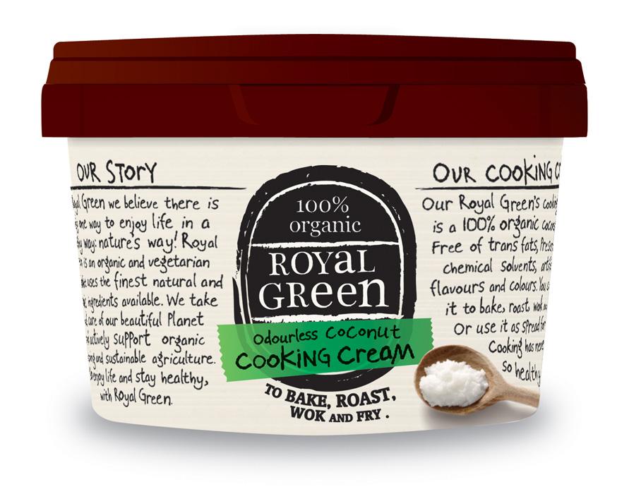 Image of Natural Coconut Oil (2,5 liter) - Royal Green 8710267730030