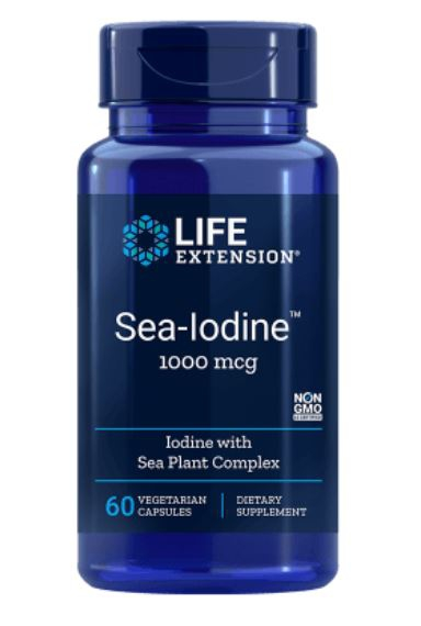 Image of Sea-Iodine 1000 Mcg - 60 Capsule Vegetali - Life Extension 0737870174066