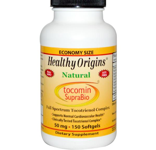 Image of Healthy Origins, Tocomin SupraBio, Red Palm Oil Concentrate, 50 mg, 150 Softgels 0603573164782