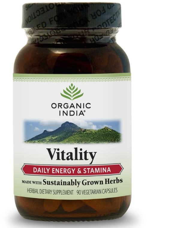Image of Formula di vitalità (90 Veggie Caps) - Organic India 0851469000755