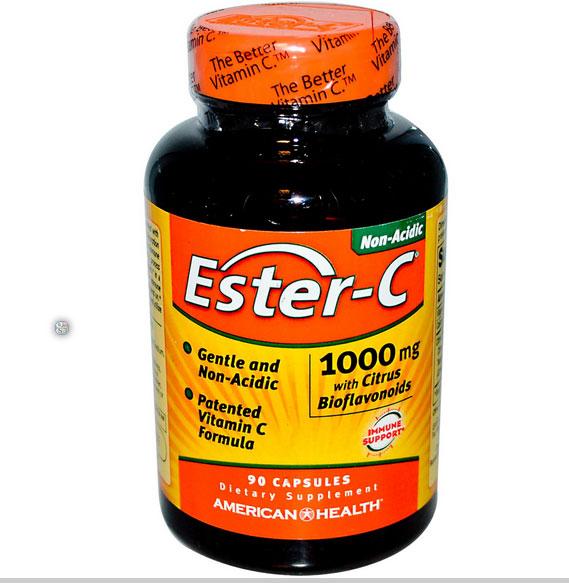 Image of American Health, Ester-C con bioflavonoidi di agrumi 1000 mg, 90 capsule 0076630169752
