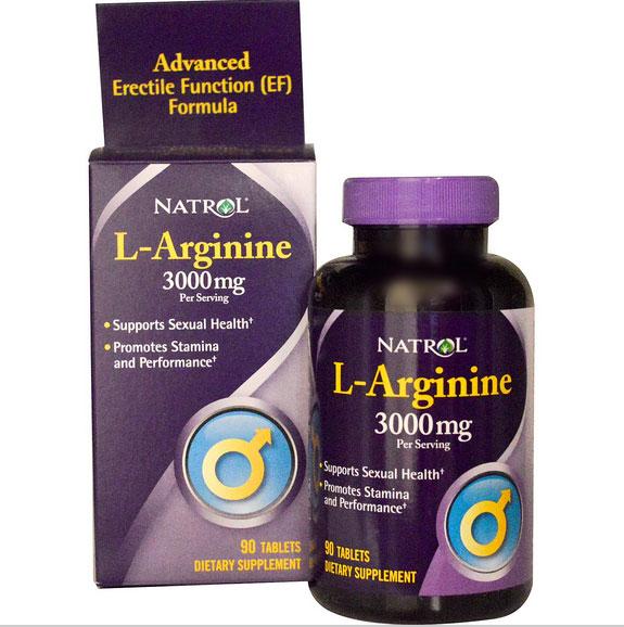 Image of Natrol, L-arginina 3000 mg, 90 compresse 0047469052348