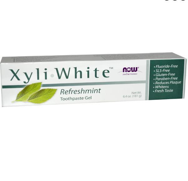 Image of Xyliwhite dentifricio (181 grammi) - Now Foods 0733739080905